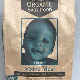 ene naturals organic baby food maize meal