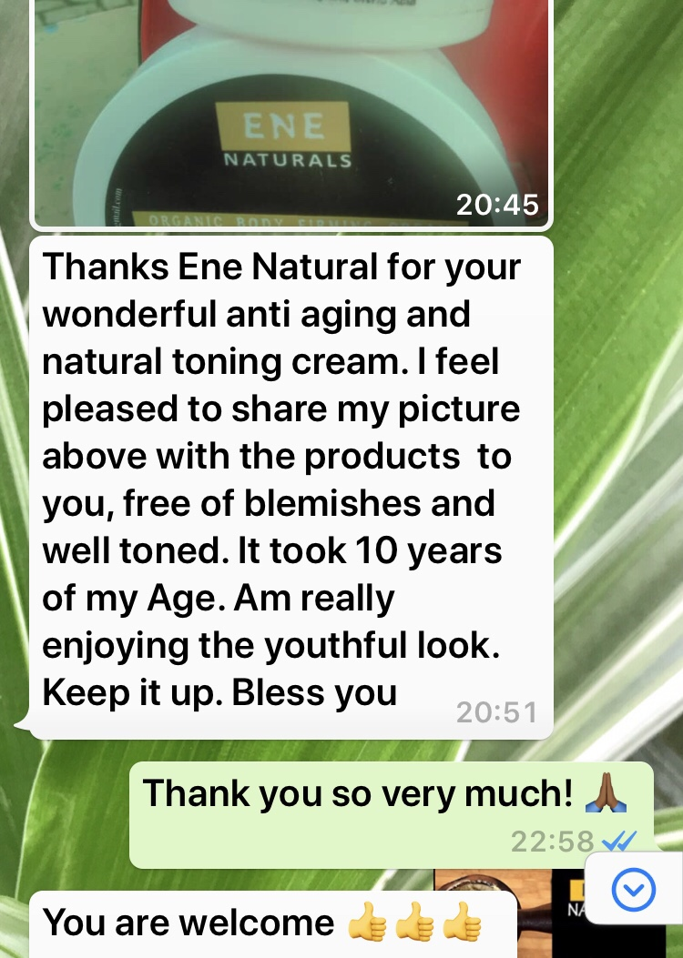 ene naturals products customer review