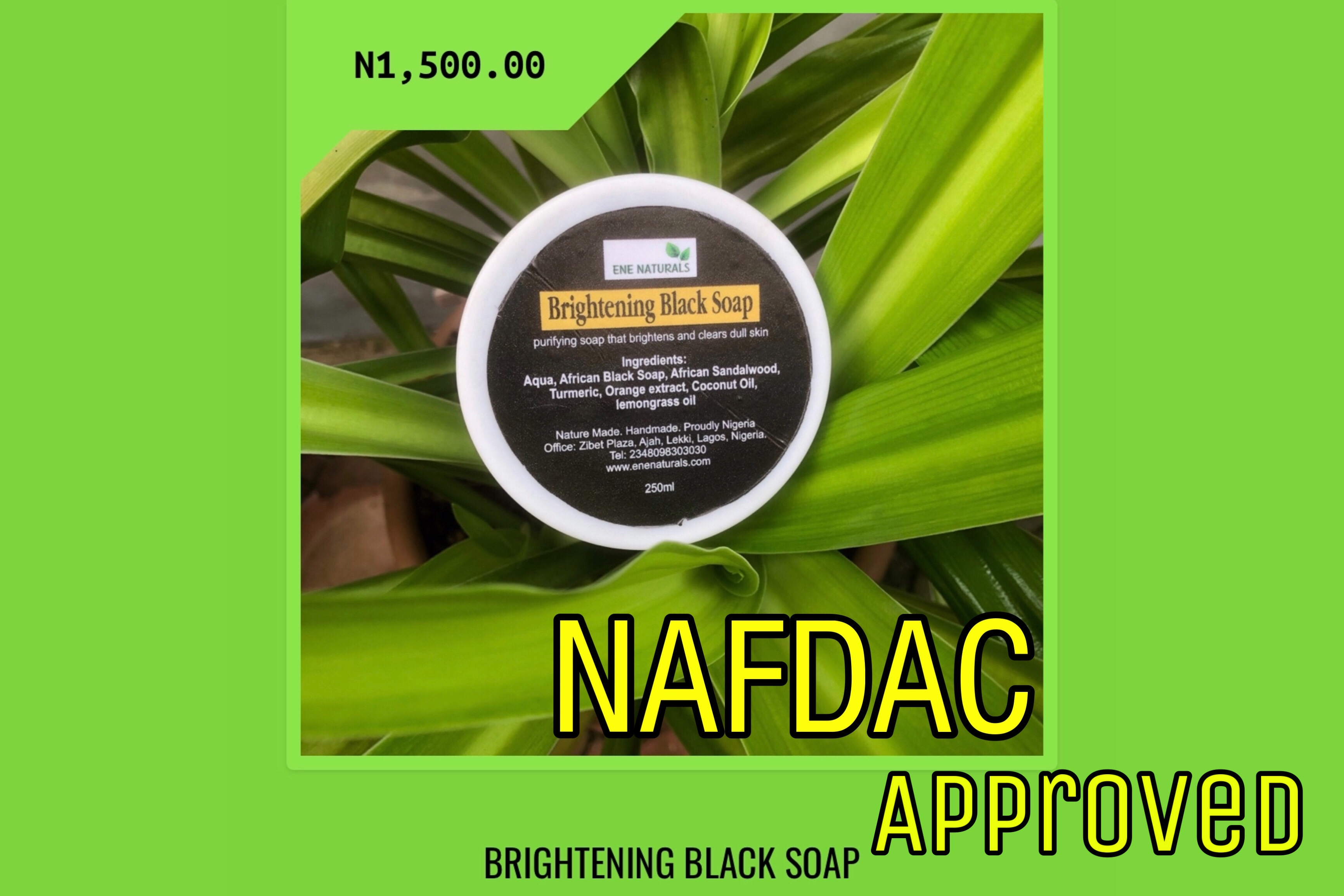 nigerian fda approved black soap