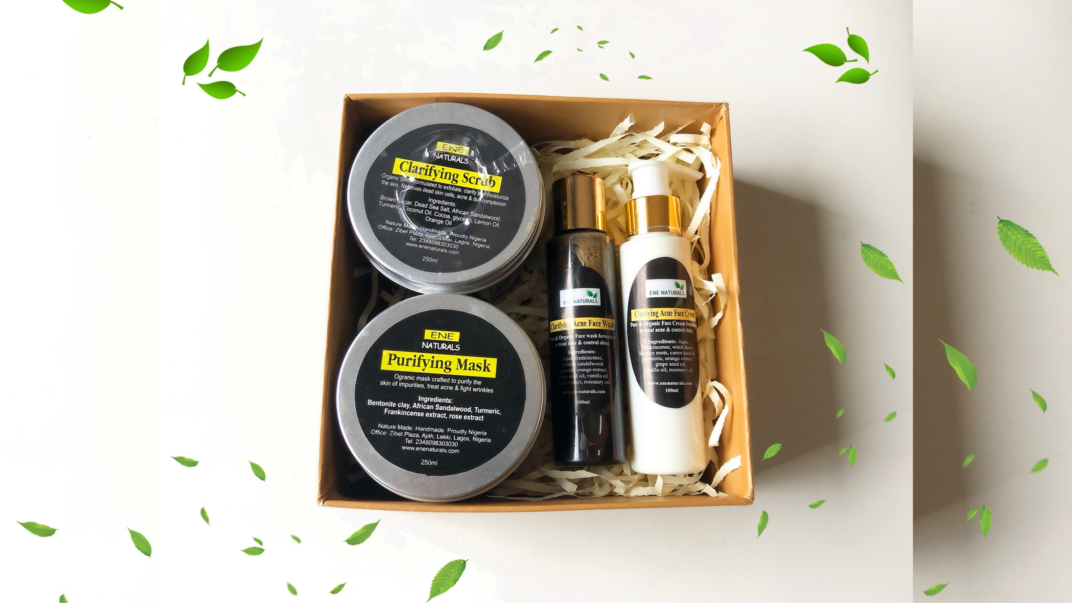 acne begone gift set