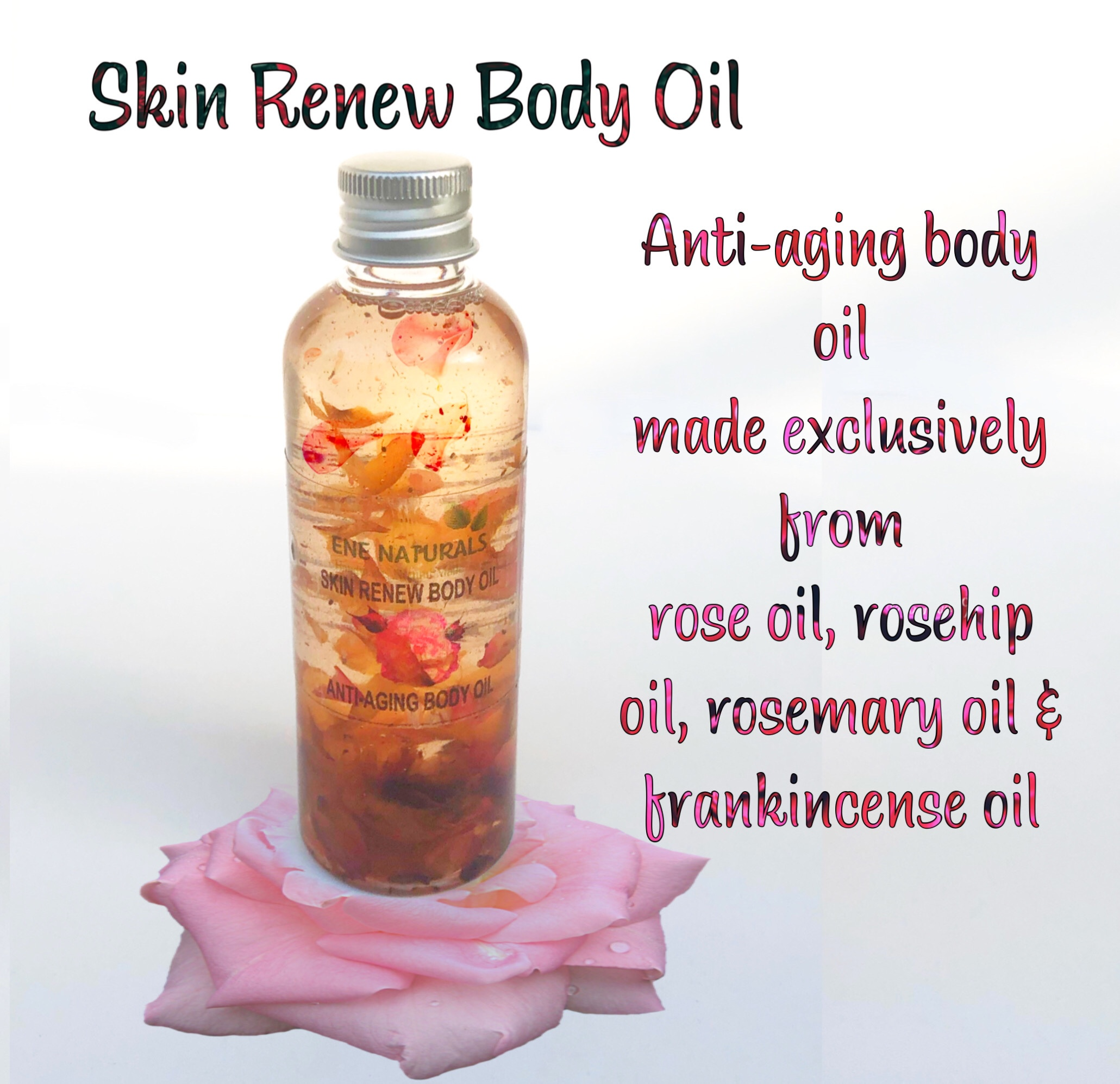 skin renew anti aging body oil