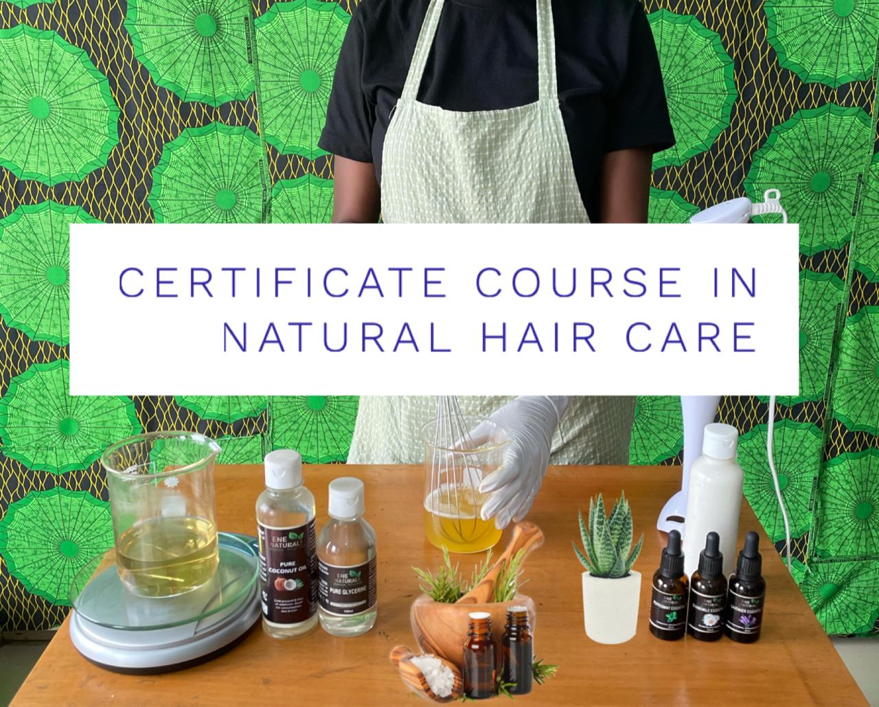NATURAL HAIR CARE TRAINING