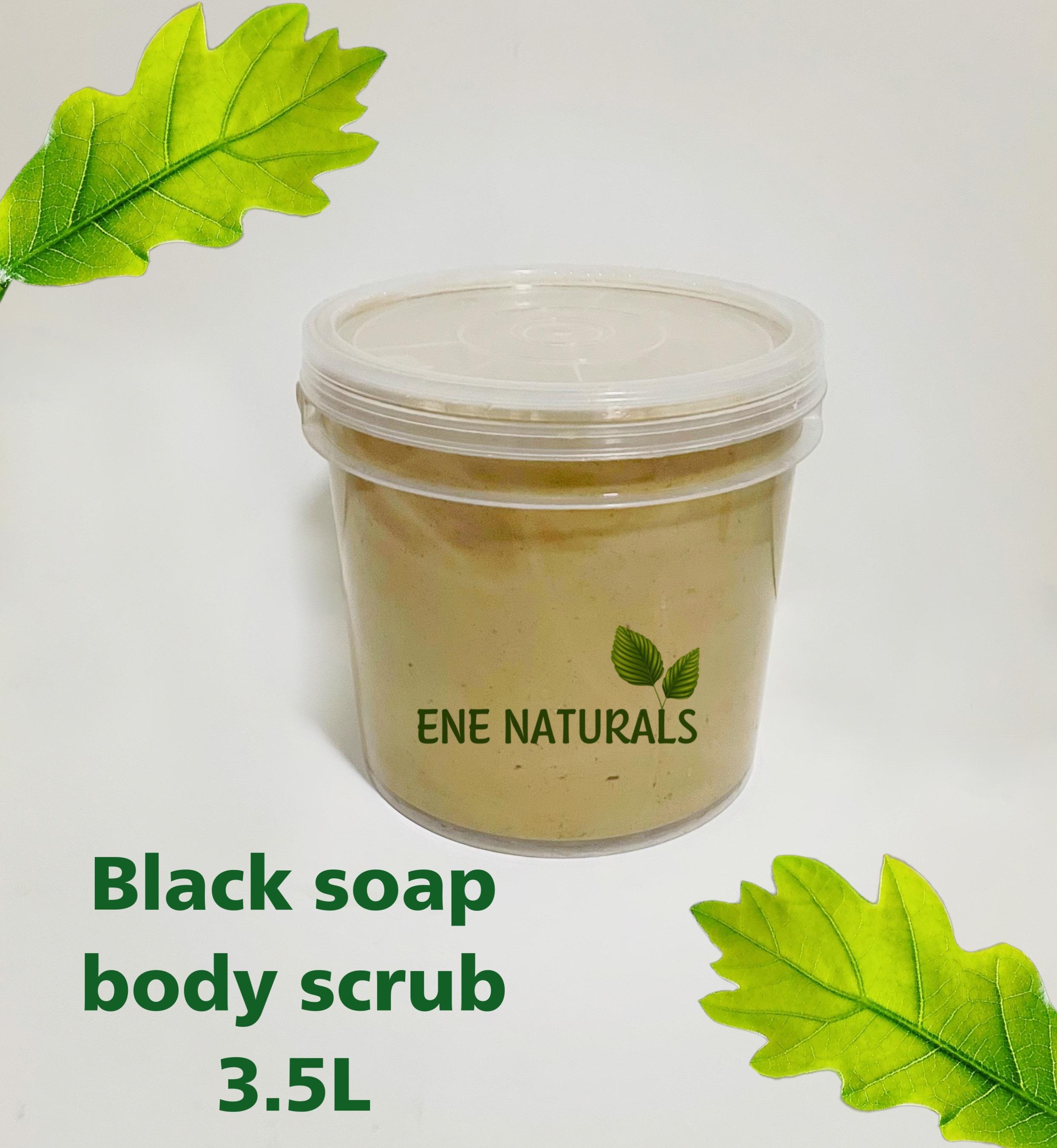 black soap body scrub manufacturer